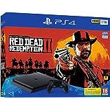 Sony PlayStation 4 500GB Console (Black) with Red Dead Redemption 2 Bundle [Importación inglesa]: Amazon.es: Videojuegos