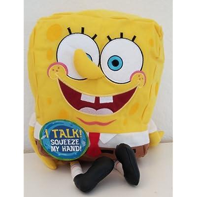 "13"" Spongebob Plush Stuffed Animal Backpack"