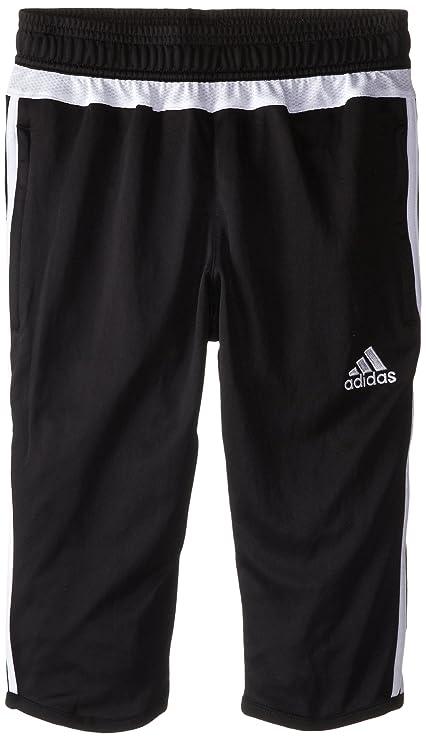 b60ab69cf391 Amazon.com  adidas Performance Youth Tiro 15 Three-Quarter Pant ...