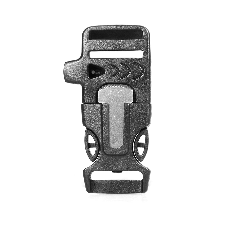 2 fibbie 20mm steckschließer TRASPARENTE steckverschluss