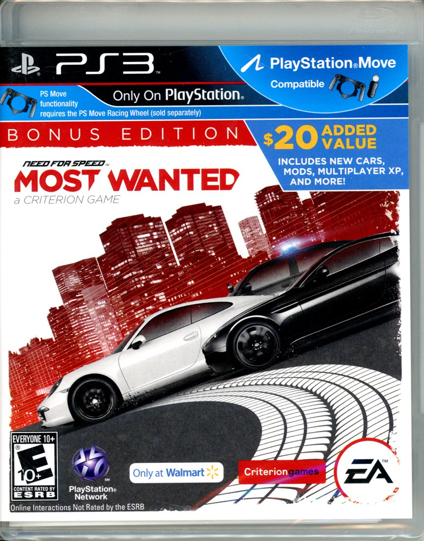 Amazon Com Need For Speed Most Wanted Bonus Edition W Timesavers