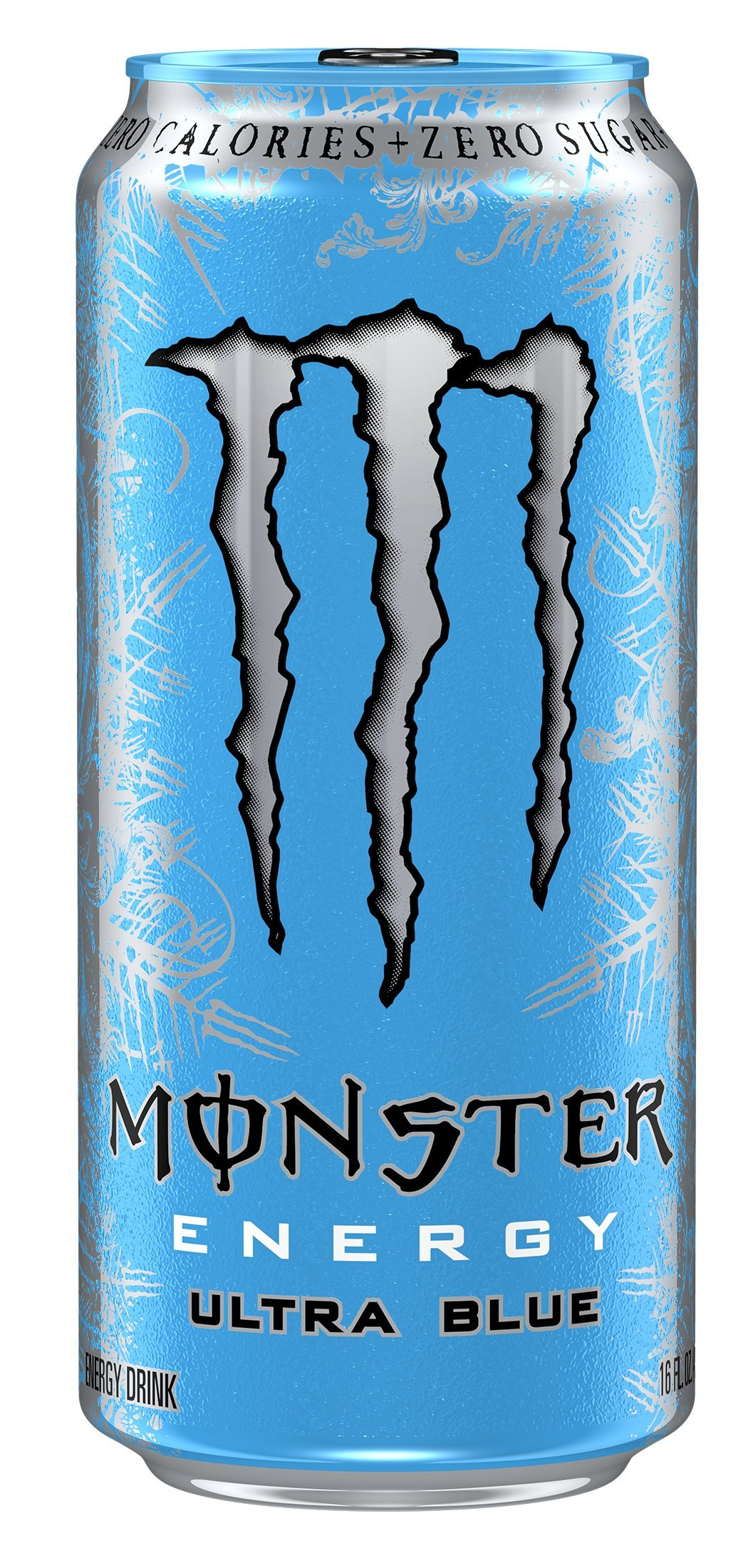 Monster Energy, Ultra Blue, 16 Ounce (Pack of 24)
