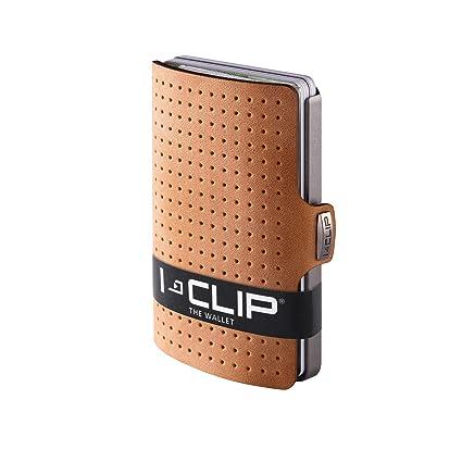 I Clip   Advantage R Leather   Slim Wallet   Minimalist, Thin Design &Amp; Money Clip by I Clip