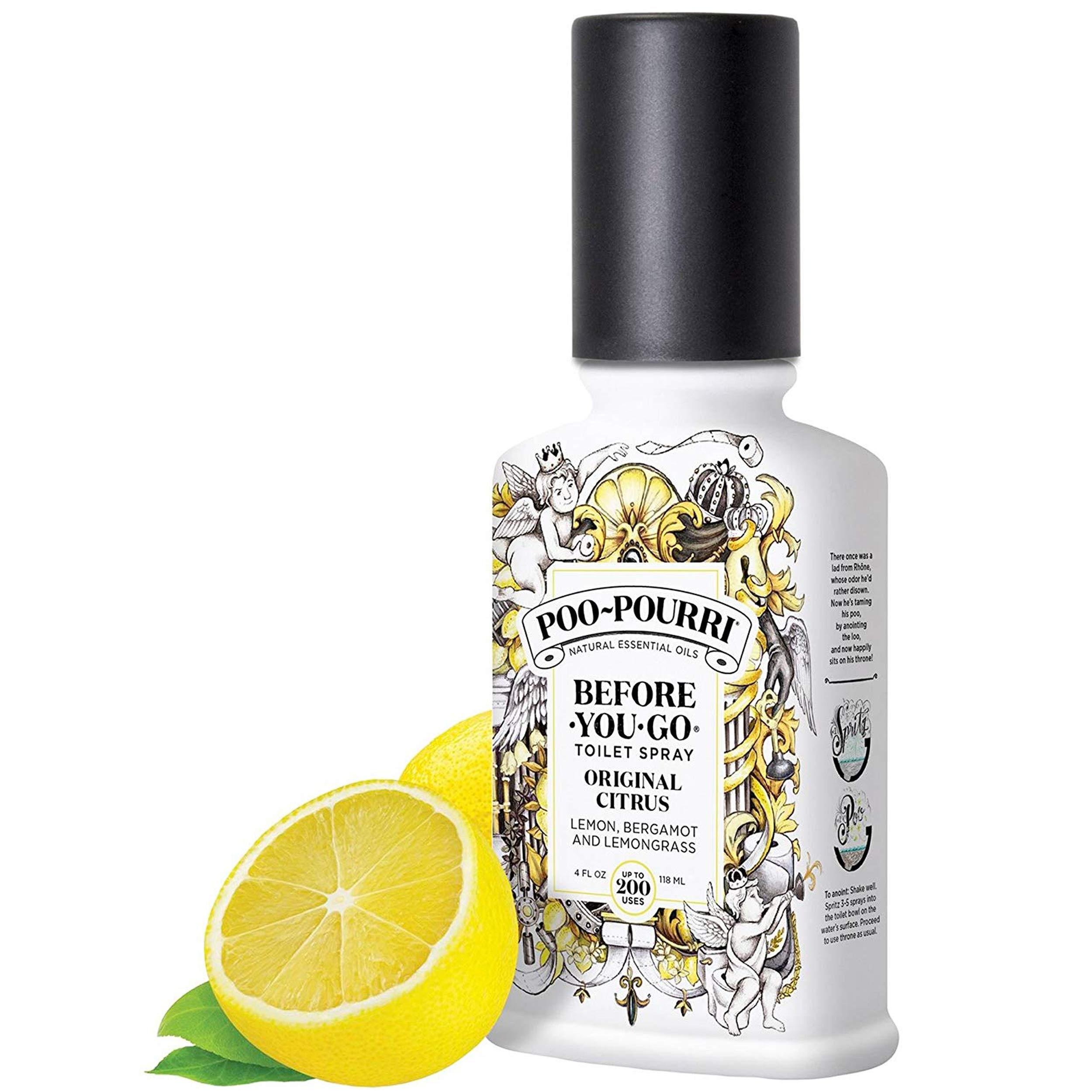 Poo-Pourri Before You Go Toilet Spray Original Citrus, Lavender Vanilla and Sitting Pretty 4 Ounce Bottles by Poo-Pourri (Image #6)