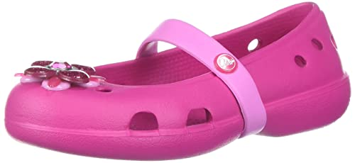 d3d877894 Crocs Girls  Keeley Springtime Flat PS Mary Jane