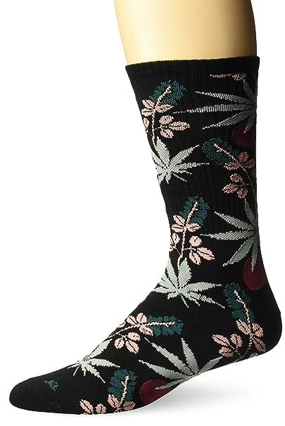 750df763de Amazon.com  HUF Men s Cherry Blossom PL Crew Socks