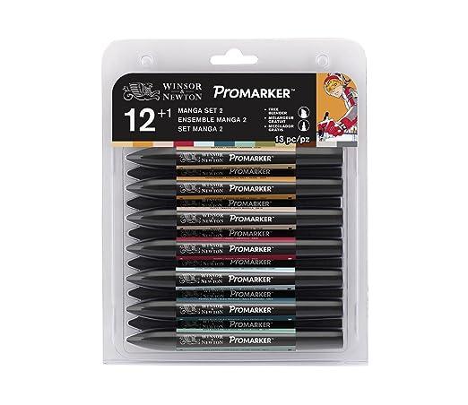 48 opinioni per Winsor & Newton Promarker 12+1Manga Expansion Pack 2