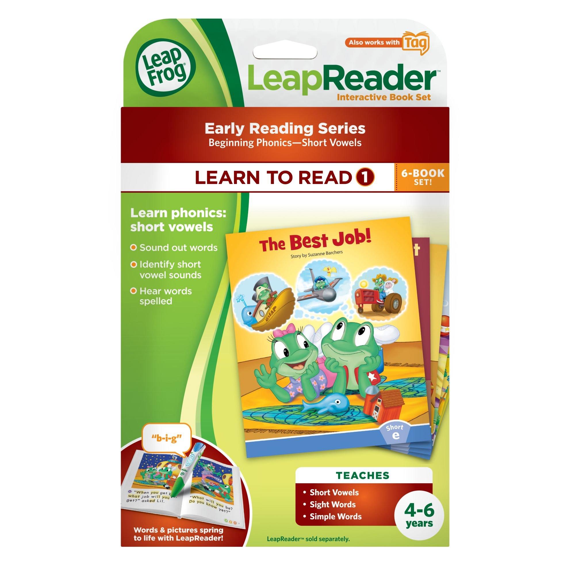 LeapFrog LeapReader Learn to Read, Volume 1 (works with Tag) by LeapFrog (Image #8)