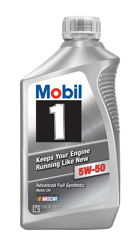 Amazon.com: Mobil 1 106035 5W-50 Rally Formula Motor Oil - 1 Quart: Automotive