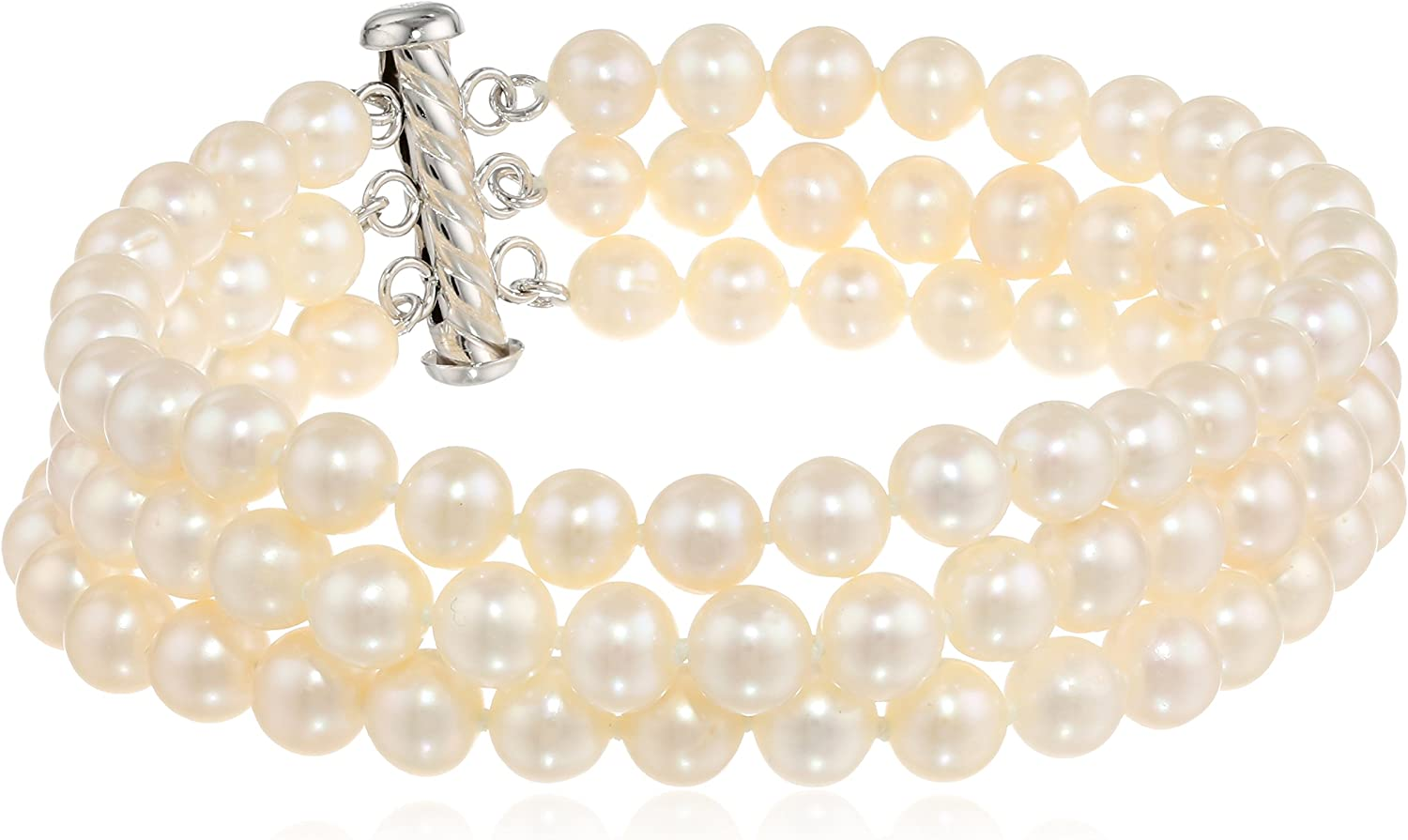 Variation 6-8mm rice Natural freshwater pearl loose beads Jewelry marking supply