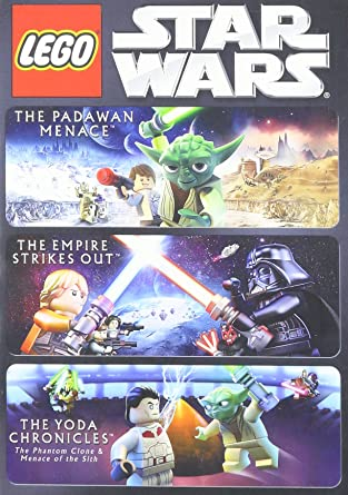 Amazon.com: 3 Lego Movie Collection DVD Star Wars The Padawan ...