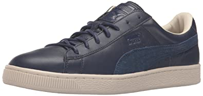 PUMA Mens Basket Classic Citi Fashion Sneaker Peacoat