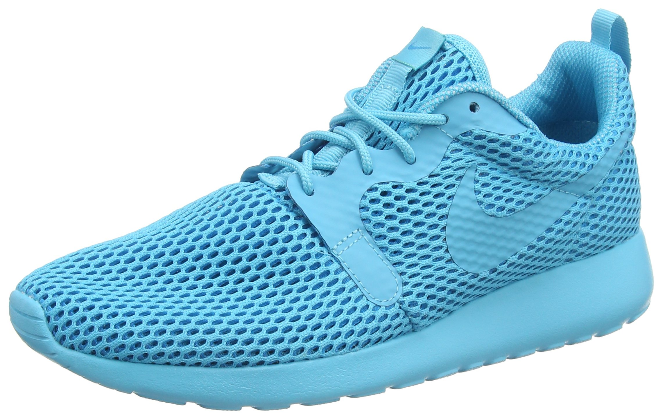 Nike Womens Roshe One Hyperfuse Breathe Blue Mesh Trainers 8 US