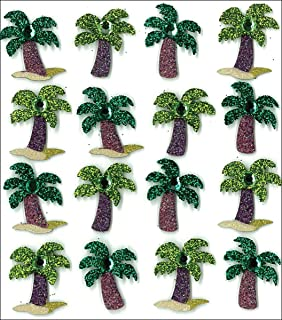 JOLEE/'S BOUTIQUE PINEAPPLE GLITTER REPEATS 3D 15 PC STICKERS SCRAPBOOK CRAFT