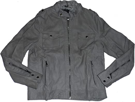 Rock /& Republic mens French Terry Zip Up Jacket