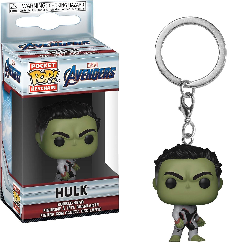 Avengers Endgame Multi Funko 36677 POP Schl/üsselanh/änger Figur Einheitsgr/ö/ße Hulk Sammelfiguren