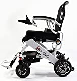 Innuovo - 2018 New FDA Approved Folding Power Wheelchair, Supports up to 265 lb, Weighs 50 lb with Batteries, up to 12.5 Miles Range with 2 Batteries (Included), Safe and Easy to Drive.