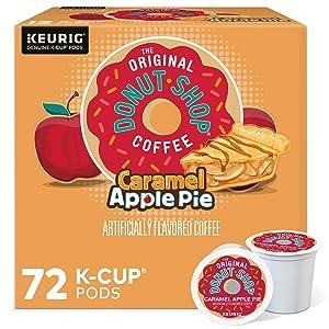 The Original Donut Shop Caramel Apple Pie Coffee, Single-Serve K-Cup Pods, 72 Count