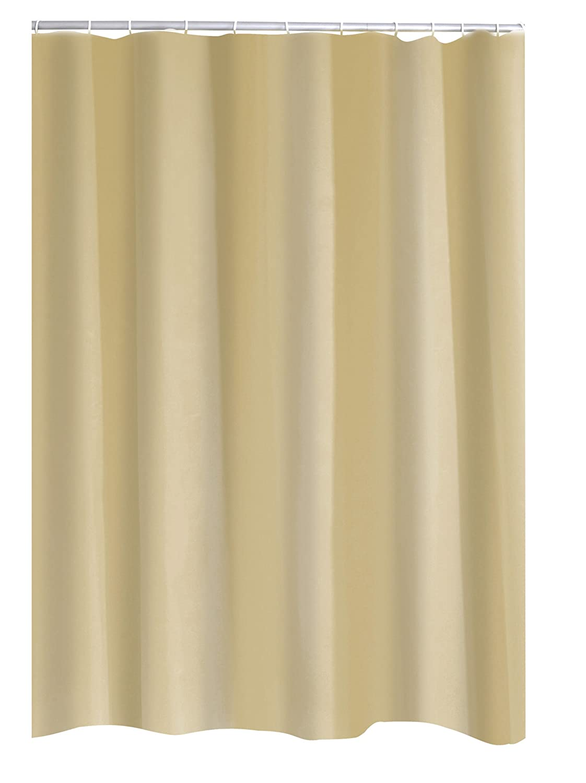 RIDDER Duschvorhang Folie Uni weiß 120x200 cm