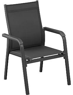 KETTLER Advantage Sessel, Basic Plus Stapelsessel Zerlegt, 0301205 7000