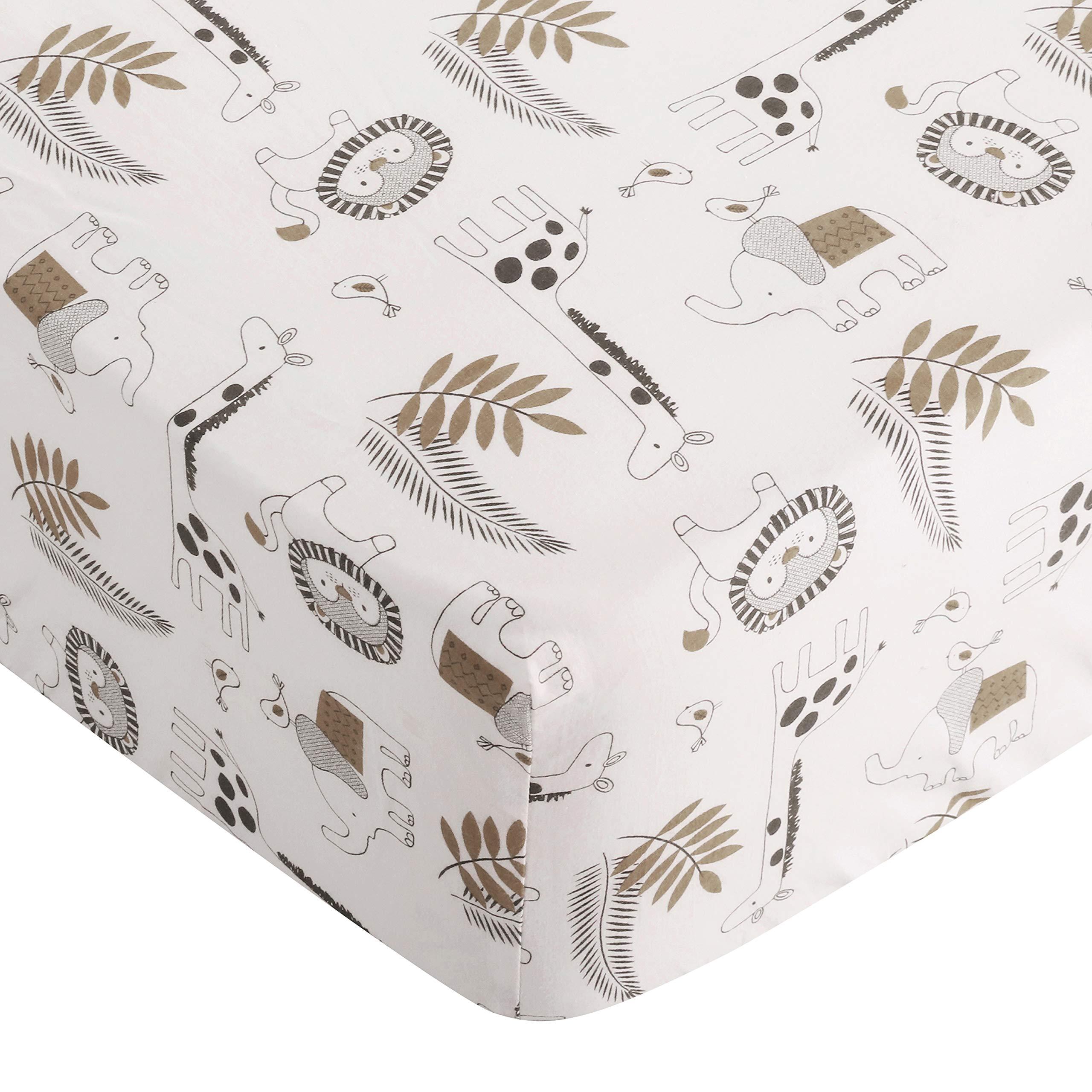Levtex Baby Tanzania Neutral 5-Piece Crib Bedding Set, Grey/Black/Cream/Tan by Levtex (Image #3)