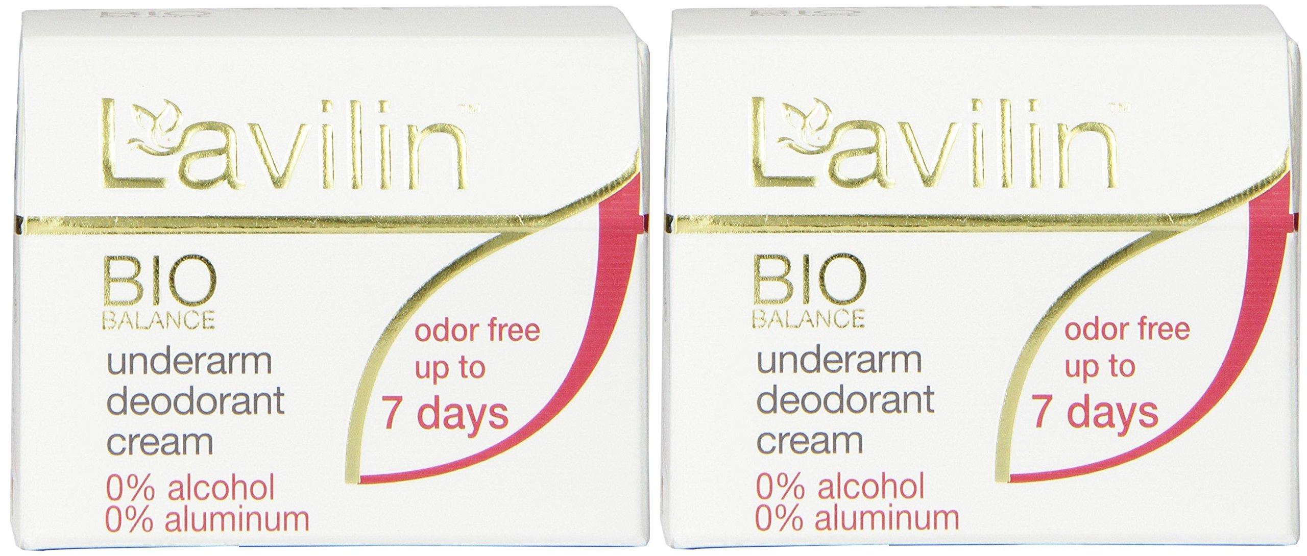 Lavilin Underarm Deodorant Cream, 12.5 Gram (2 Pack)