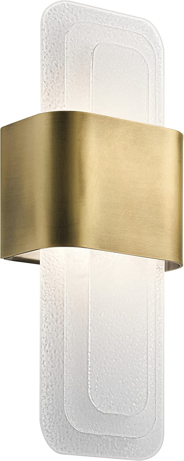 Kichler Lighting 44162NBRLED LED Wall Sconce from The Serene Collection, Image