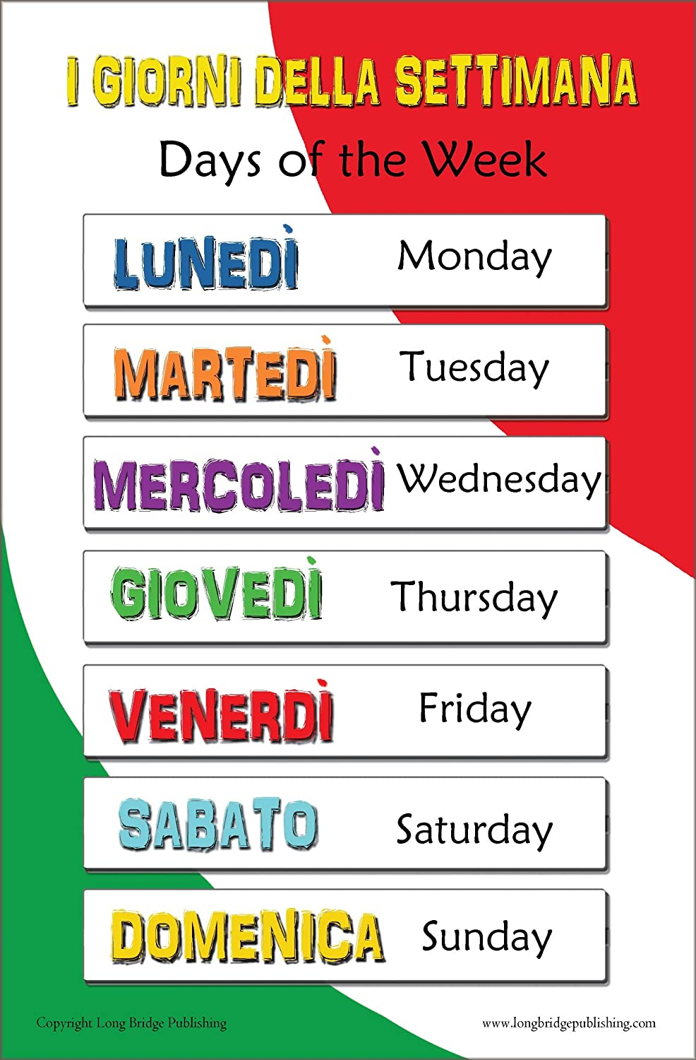 Amazon italian language school poster set n1 assorted amazon italian language school poster set n1 assorted bilingual wall charts for classroom and playroom prints posters prints kristyandbryce Images