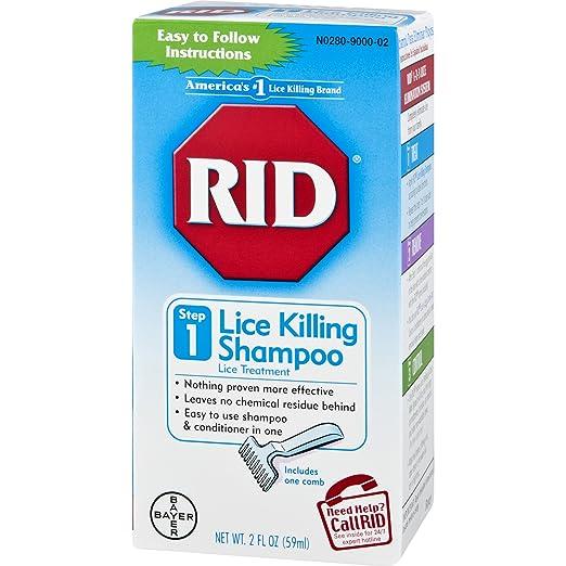 Amazon Rid Lice Killing Shampoo Proven Effective Head Lice