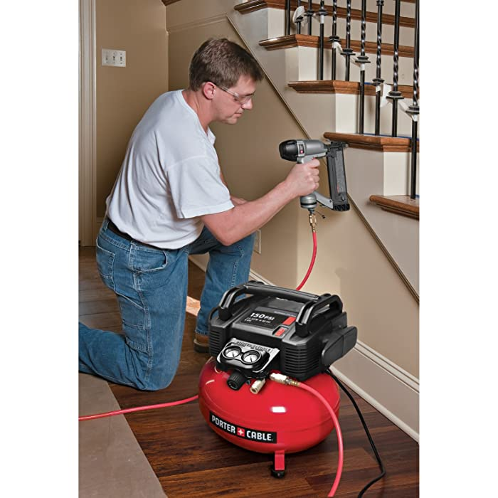 PORTER CABLE C2002 is the best powerful portable air compressor for DIY