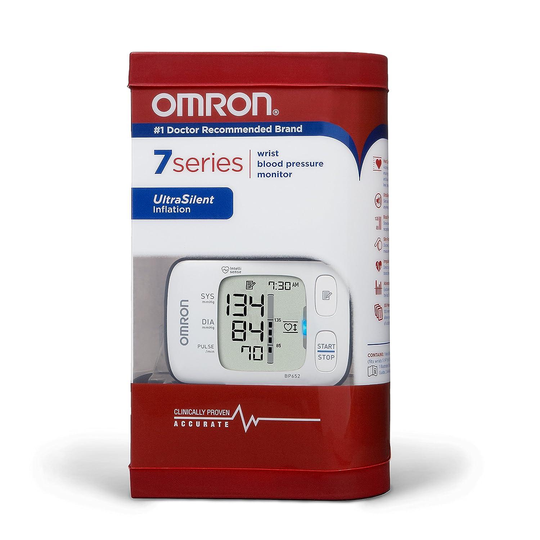 Omron BP652 Wrist Automatic blood pressure unit 1usuario(s) - Tensiómetro (AA, LCD): Amazon.es: Salud y cuidado personal