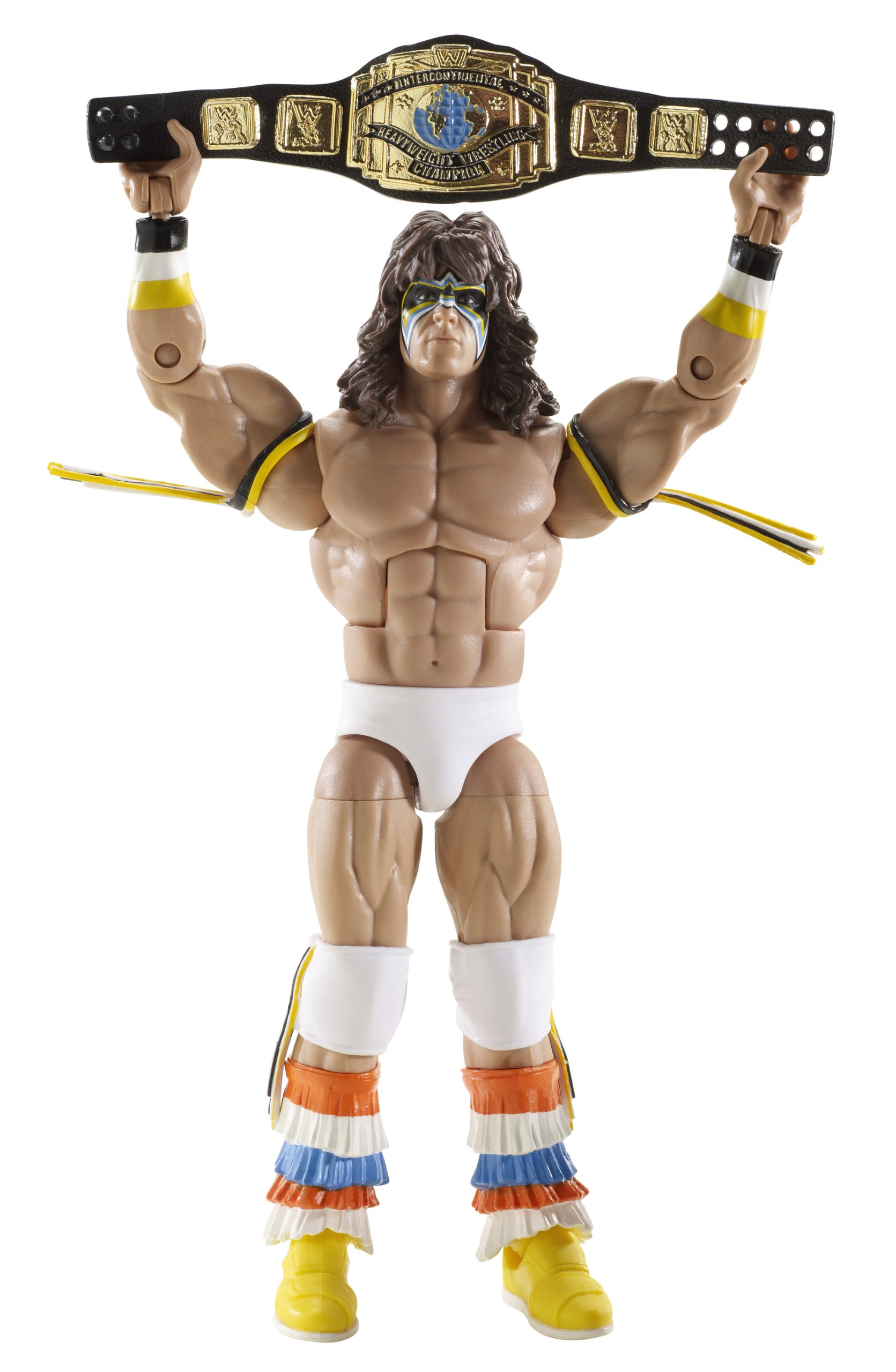 WWE Legends Ultimate Warrior Collector Figure Series #4