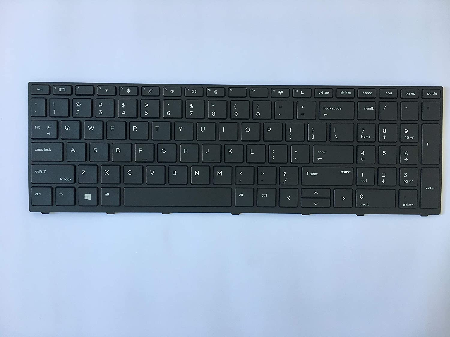 Original New Laptop Replacement US Keyboard for HP Probook 470 G5 with Frame Non Backlit