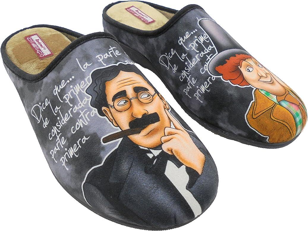 Zapatillas de Estar por Casa para Hombre Hermanos Marx Mod.529. Calzado Made in Spain, Garantia de Calidad. (39): Amazon.es: Zapatos y complementos