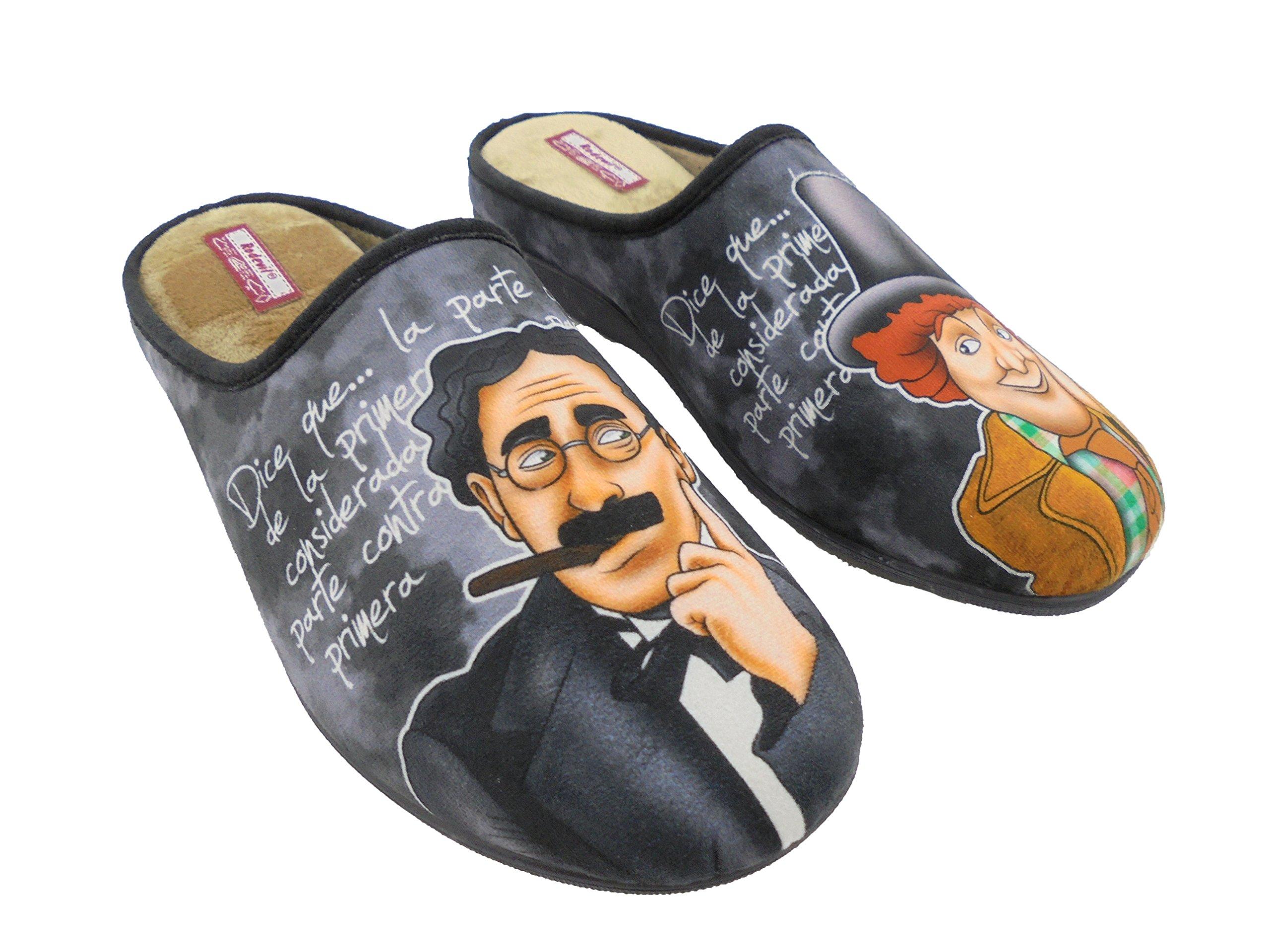 881961cd41a Zapatillas de Estar por Casa para Hombre Hermanos Marx Mod.529. Calzado  Made in Spain