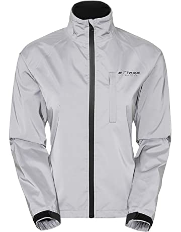 c60f5f74f Ettore Ladies Cycling Jacket Waterproof Breathable High Visibility  Reflective Silver - Night Glow
