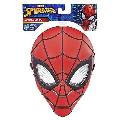 HASBRO-E3366EU40 Spiderman máscara 23cm, (E3366EU40): Juguetes y juegos
