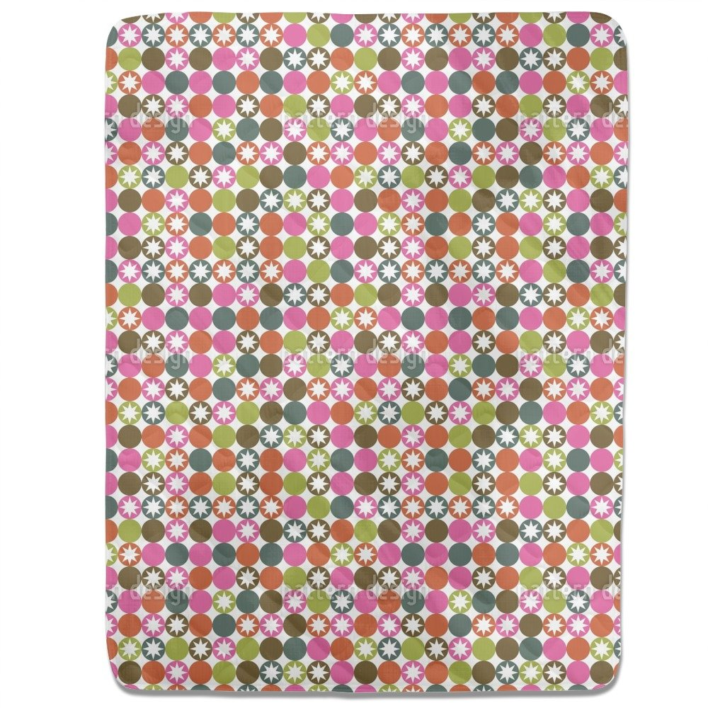 Star Bingo Fitted Sheet: King Luxury Microfiber, Soft, Breathable by uneekee