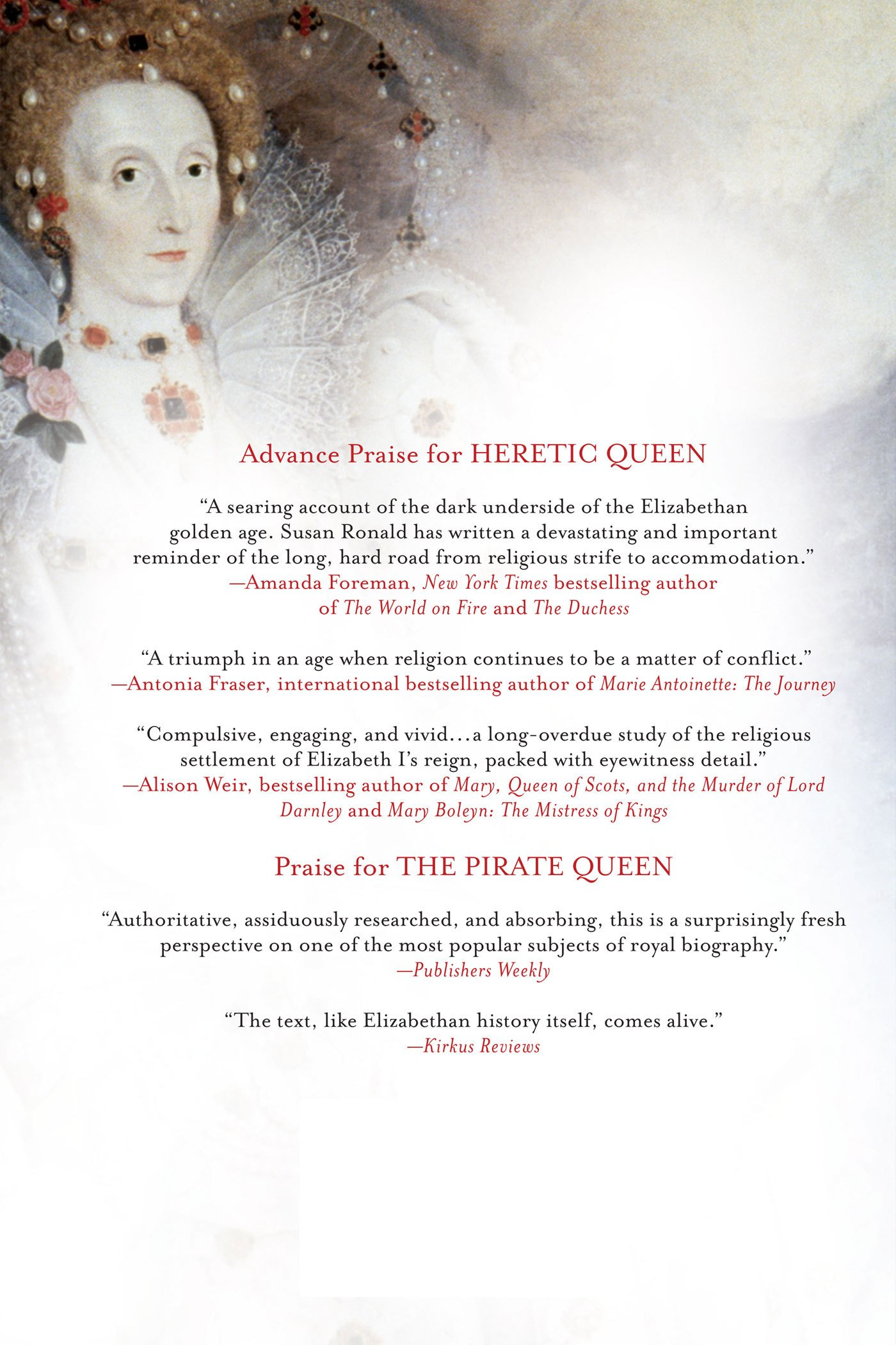 Heretic Queen: Queen Elizabeth I And The Wars Of Religion: Susan Ronald:  9780312645380: Amazon: Books