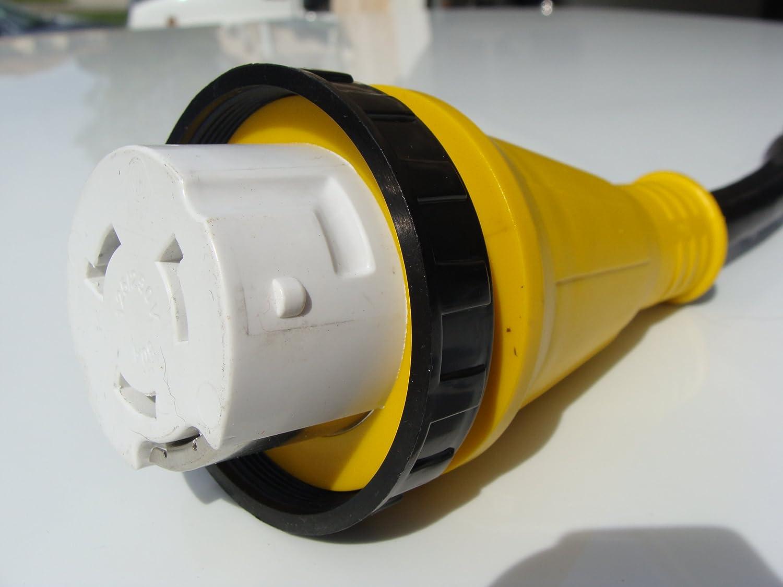 RV Plug Adapter 50 amp to 15 amp 120 volt
