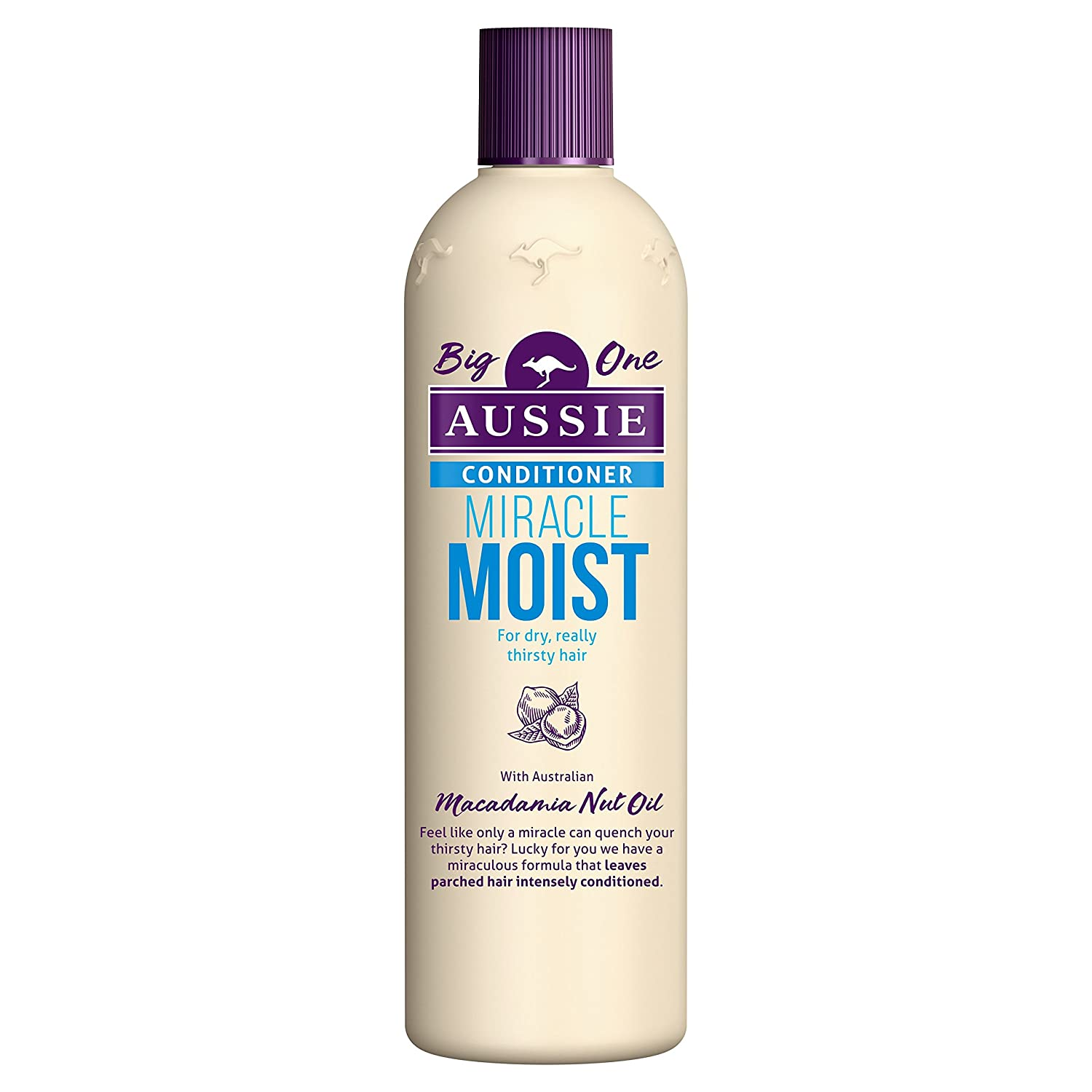 Aussie Miracle Moist Conditioner for Dry, Really Thirsty Hair, 400 ml Procter & Gamble 104210926