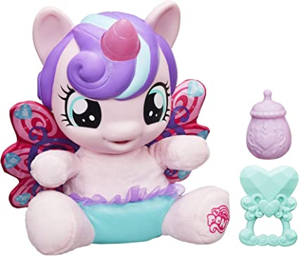 Amazon.com: My Little Pony Explore Equestria Baby Flurry Heart Doll: Toys &  Games
