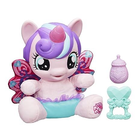 amazon com my little pony baby flurry heart pony figure toys games