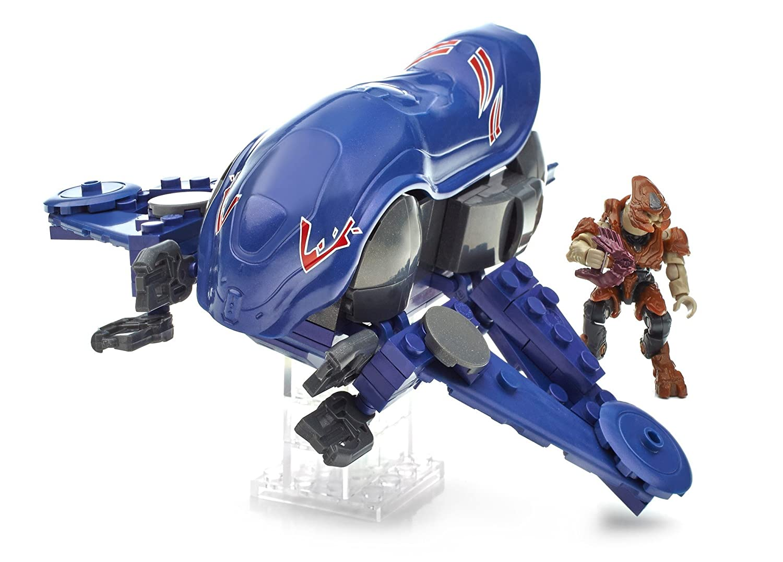 buscando agente de ventas Halo - Juego Juego Juego de construcción, helicóptero de Ataque Vulture UNSC (Mattel CNG71)  suministramos lo mejor