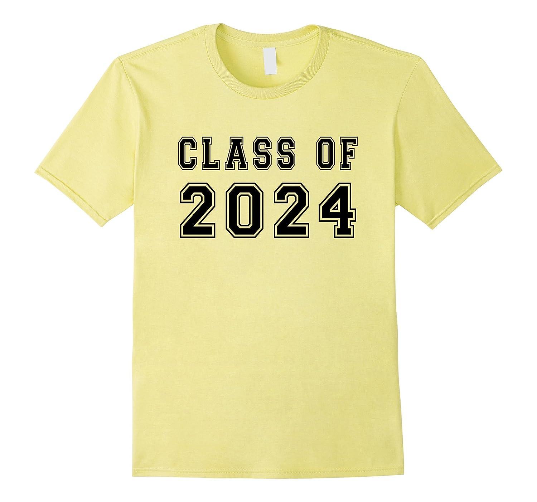 Class Of 2024 High School Graduation Date Graduate T-Shirt-TH