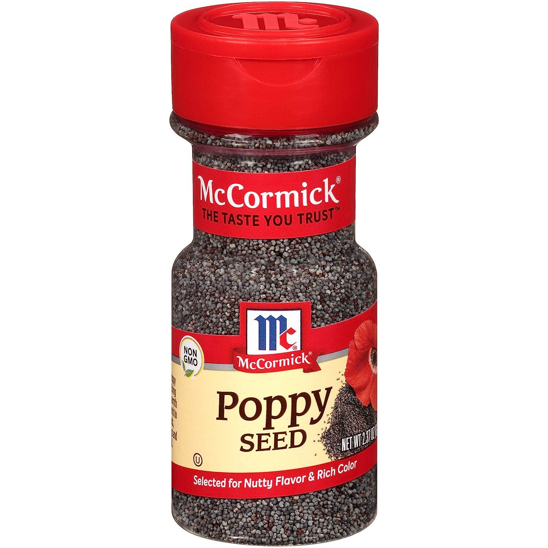 McCormick Poppy Seed, 2.37 oz