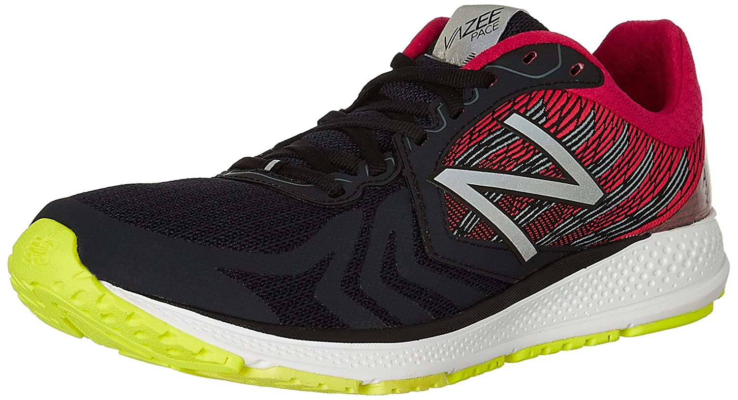 New Balance Men's Vazee Pace V2 Running Shoe B019D1E1D8 11 2E US|Black/Pink