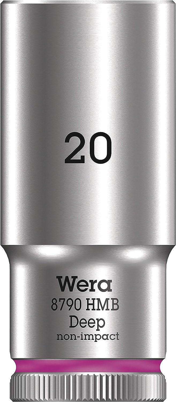 """Noir 12.0 mm Wera 05004534001 8790 HMB Deep Douille 3//8/"""""""