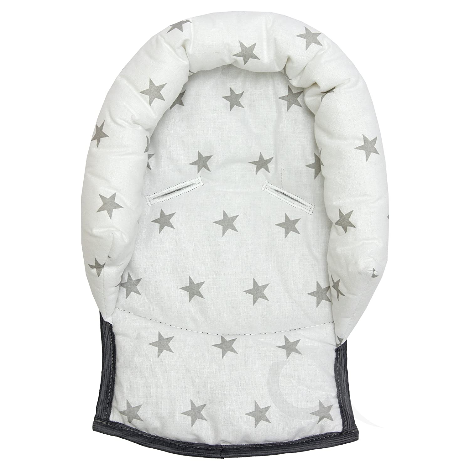 stroller head support pillow Soft Cotton UNIVERSAL Infant \ Baby \ Toddler car seat Folk//white//bl-tr