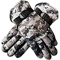 Kabello Synthetic Men's Hand Gloves for Bike (Multi-coloured, Free Size)
